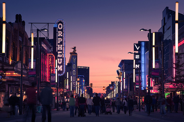 Photo Credit: Casey Yee, Granville Street, 2010